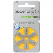 Power One MF Size 10 Hearing Aid Batteries