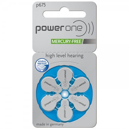 Power One MF Size 675 Hearing Aid Batteries
