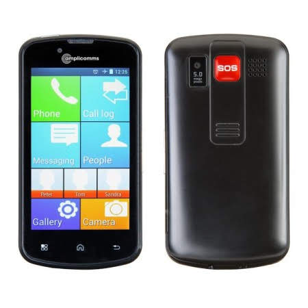 Amplicomms Powertel M9000 Amplified Smartphone
