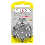 Rayovac Extra (Yellow / Size 10) Hearing Aid Batteries
