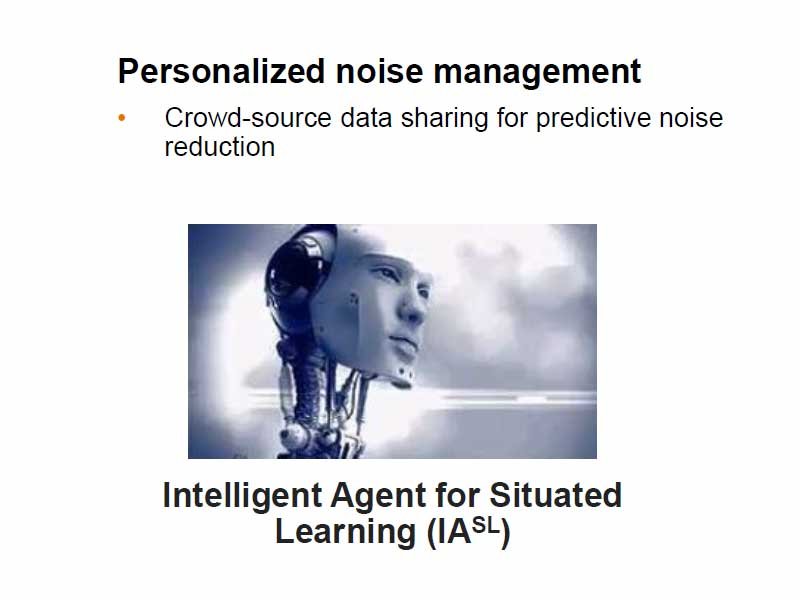 Personalised noise management AI system from GN