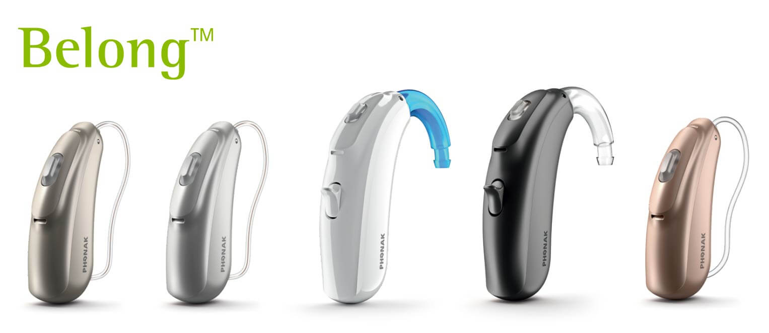 Phonak rechargeable hearing aid range