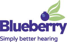 Blueberry Hearing Logo
