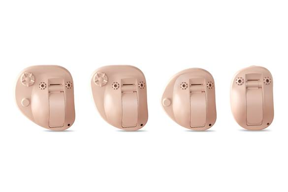 Custom hearing aid models