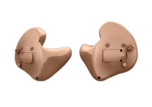 Oticon Opn full shell custom hearing aids