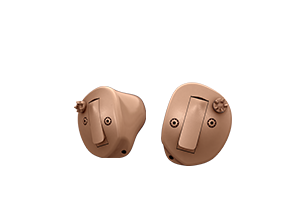 Oticon Opn half shell in the ear hearing aid