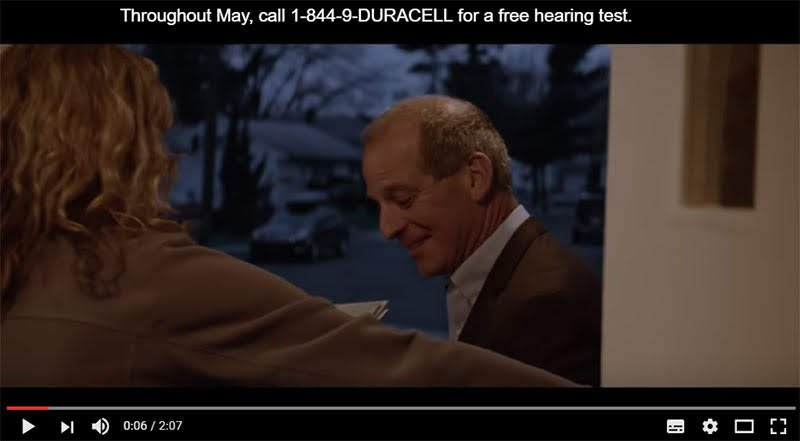 Duracell Hearing loss Video