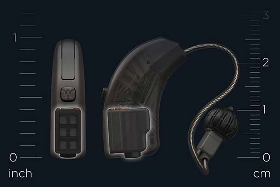 Widex hearing aid fuel cell technology