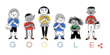 Google celebrates British Sign Language