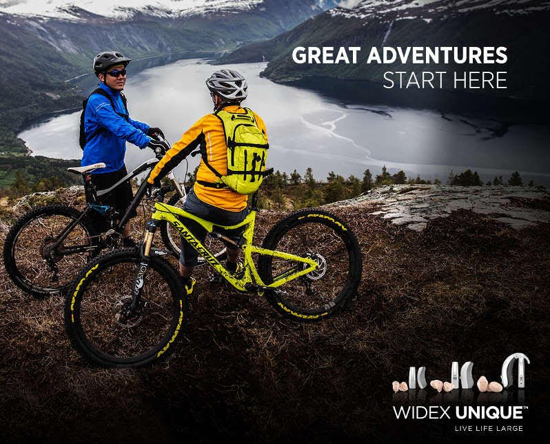 Widex, great adventures start here