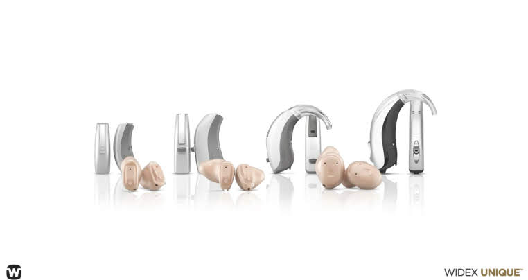 Widex Unique hearing aids