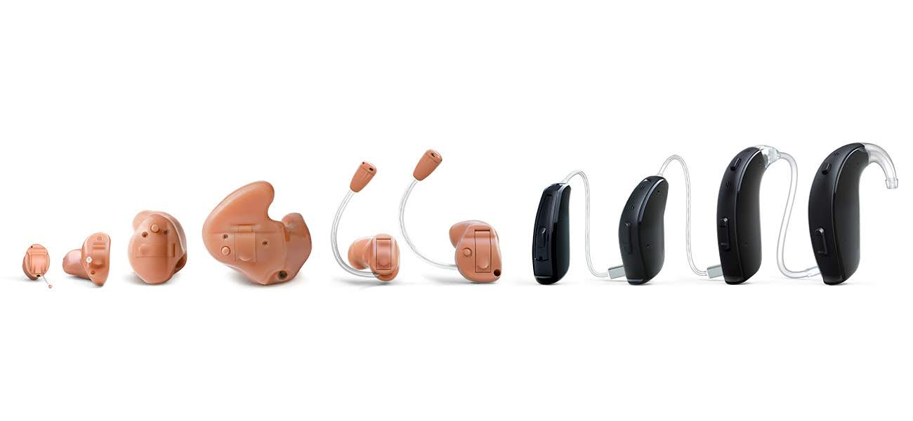 LiNX2 hearing aid family line up