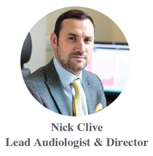 Nick Clive Lead Audiologist