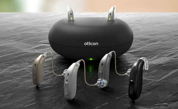 Oticon Opn S Rechargeable device