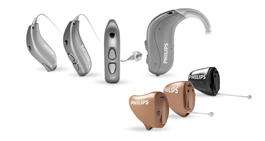 Phillips Hearlink hearing aid rnge