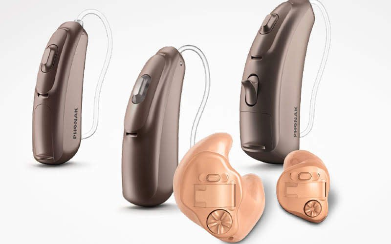 Phonak CROS Range with rechargeable CROS hearing aid