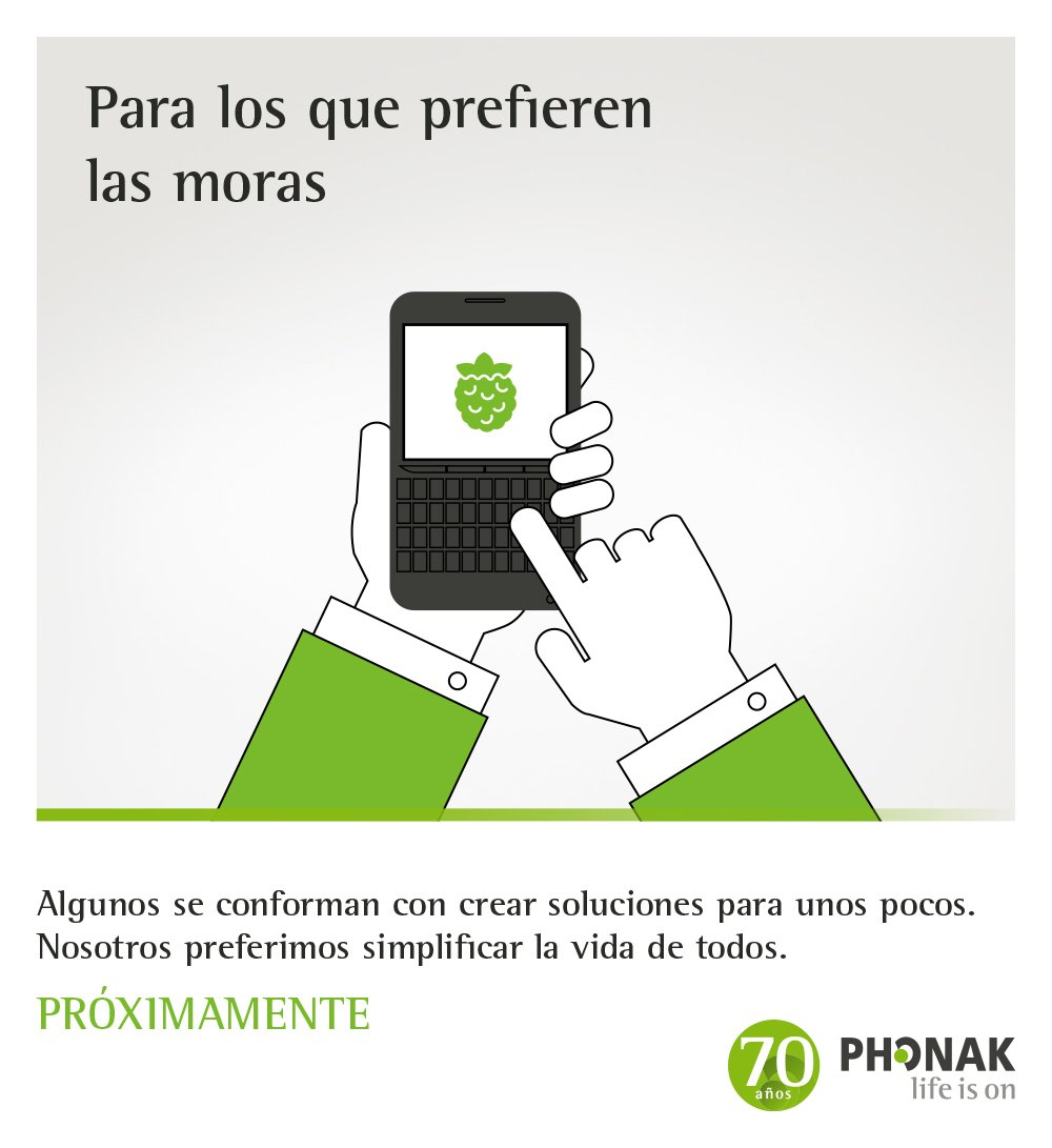 Phonak social media share