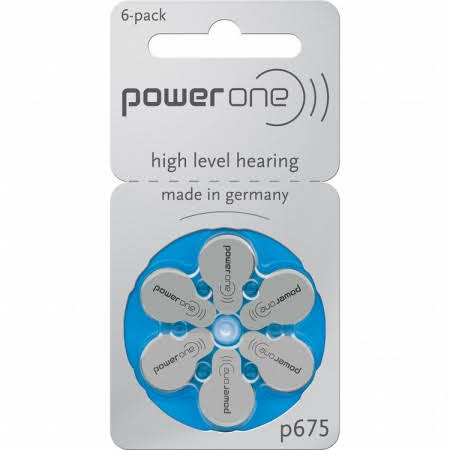Siemens Size 675 Hearing Aid Batteries