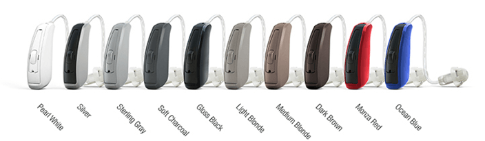 ReSound LiNX Color Selection