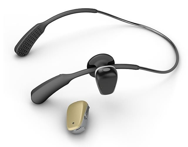 The Soundarc instant fit Bone Anchored Hearing Aid device