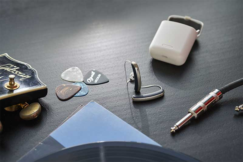 Styletto Connect Hearing Aids