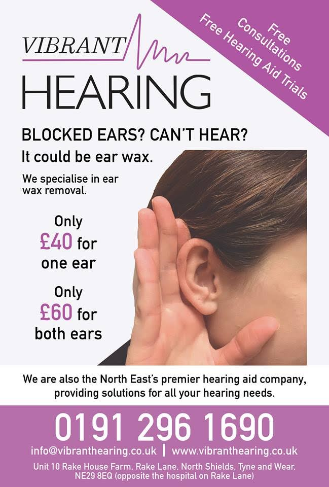Ear wax removal offer