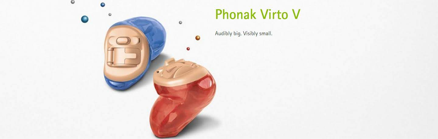 Phonak Virto V hearing aids